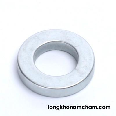 Nam châm đất hiếm 10.5x1.5 lỗ 4mm