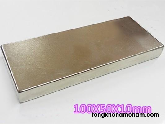 Nam châm đất hiếm 100x50x10 mm
