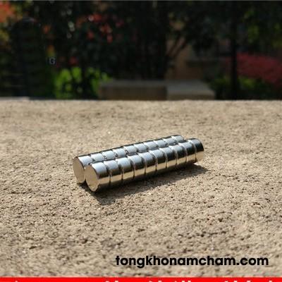 Nam châm đất hiếm 10x5mm