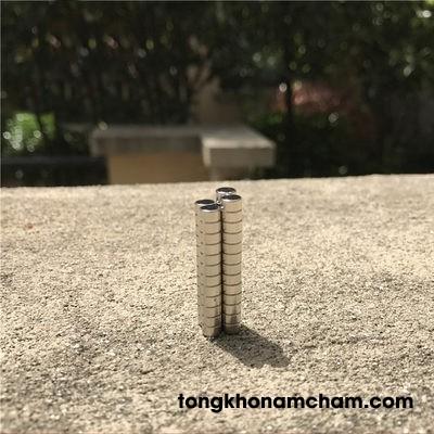 Nam châm đất hiếm 4x4mm