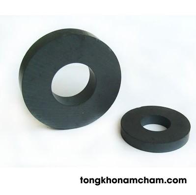 Nam châm ferrite hình nhẫn 45x8 lỗ 19 mm