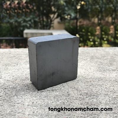 Nam châm ferrite hình vuông 50x50x20mm