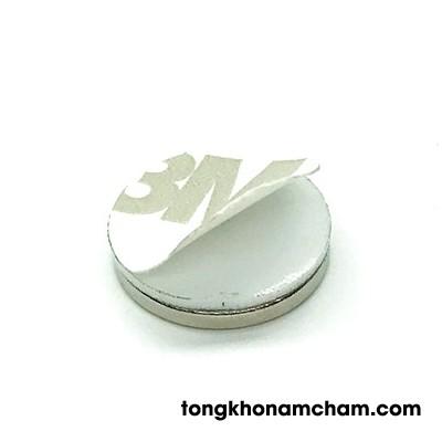 Nam châm hình nhẫn 15x2 mm
