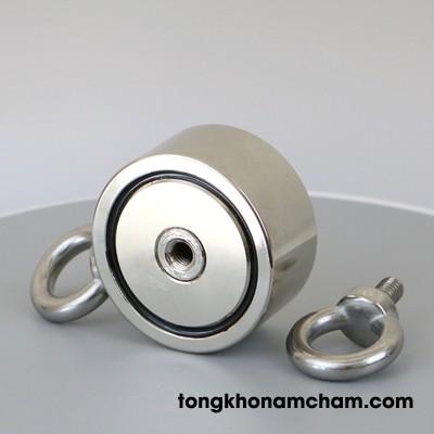 Nam châm móc tròn D60mm